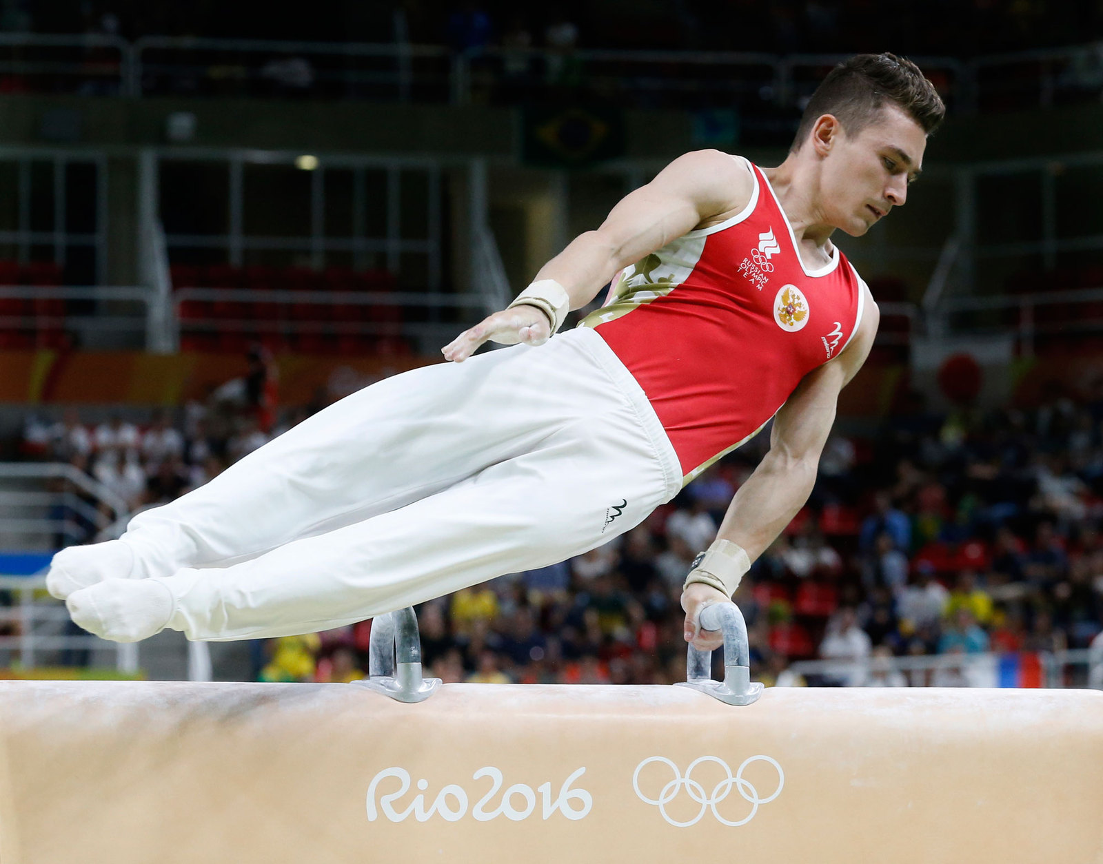 Давид Белявский - один из лидеров российской гимнастической команды