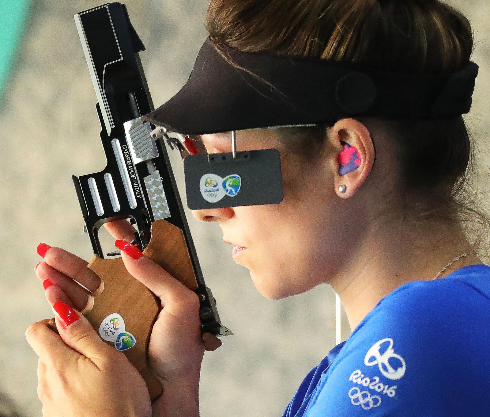 Сербская спортсменка Бобана Величкович