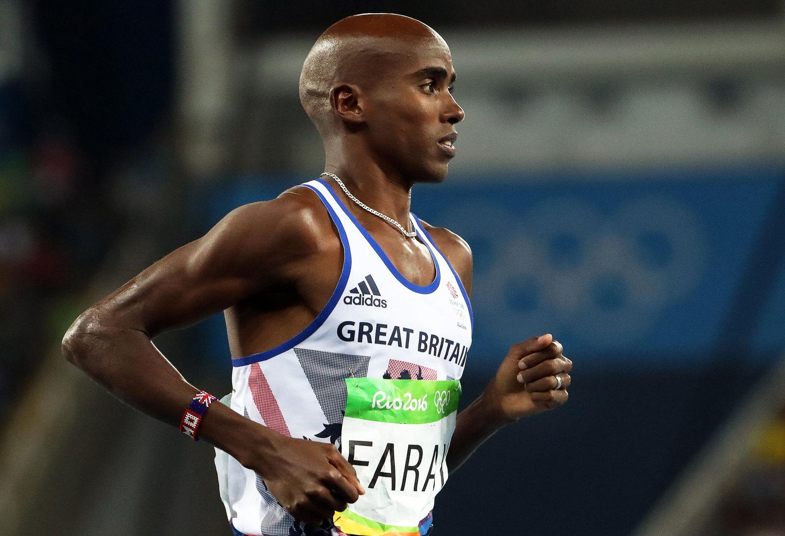 Легкоатлет Мо Фарах повторил свой олимпийский успех на дистации 10 000 метров