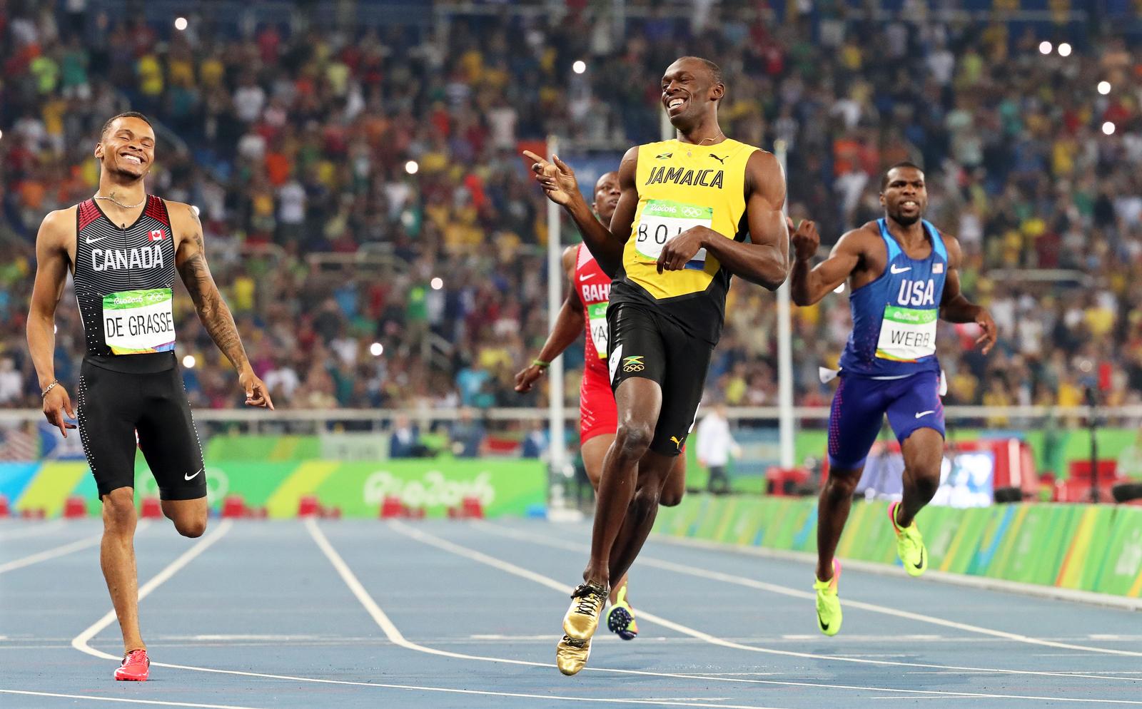 Усейн Болт не перестает выигрывать даже с травмами. Перед играми в Рио он подумывал пропустить старты, но потом передумал