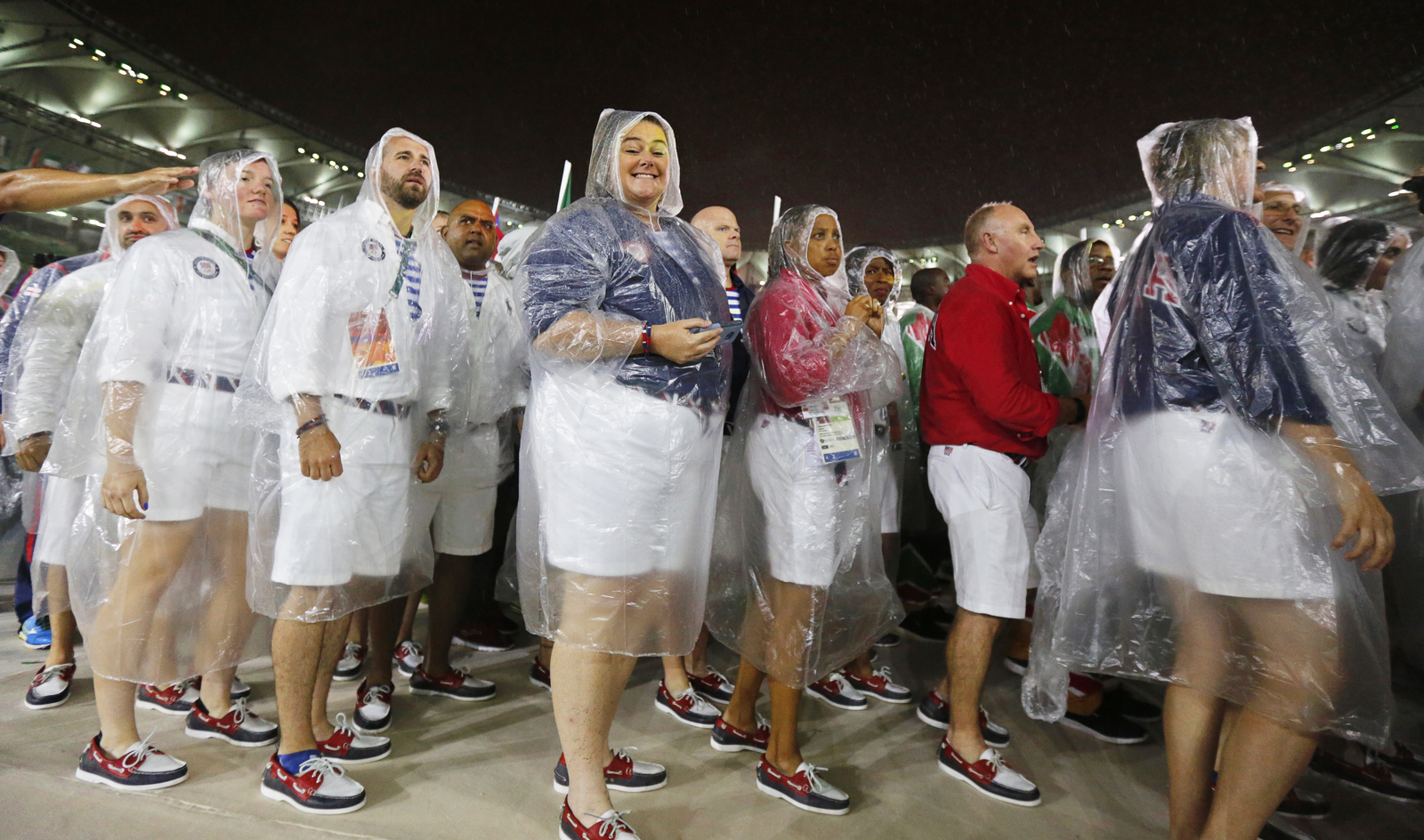 У погоды свое расписание. Закрытие олимпийских игр в Рио ознаменовалось дождем