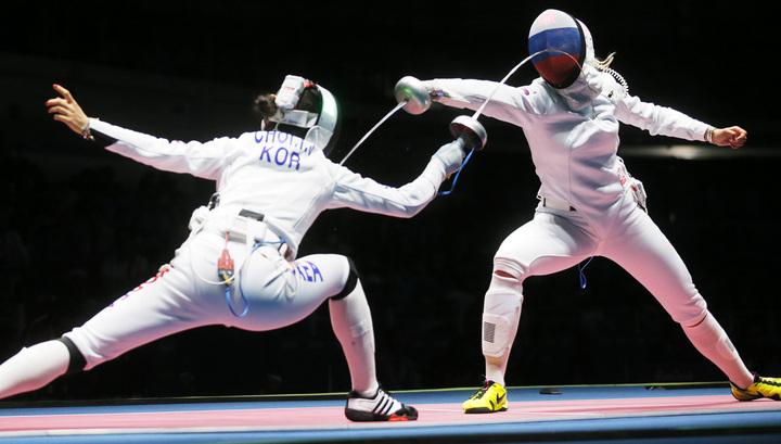 Ниодин русский шпажист непробился вчетвертьфинал Олимпиады