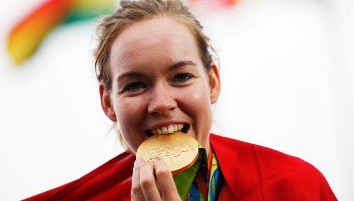 Велогонщица Забелинская выиграла серебряную медаль Олимпиады вРио