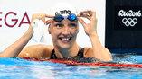 Одна из серьезных претенденток на олимпийское золото - венгерская спортсменка Катинка Хоссу