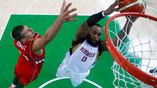 Матч между Сербией и Венесуэлой состоялся в начале олимпийского баскетбольного турнира