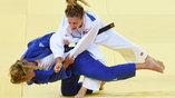 Венгерско-канадская схатка на олимпийском турнире по дзюдо