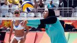Все чаще на Олимпиадах встречаются спортсменки из арабских стран, пляжный волейбол - не исключение