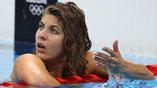 Реакция венгерки Лилианы Силадьи после неудачного финального заплыва на 200 метров комплексом
