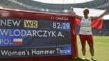 Польская метательница молота Анита Влодарчик установила в Рио новый мировой рекорд