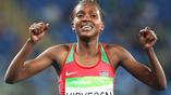 Кипьегон Фаих стала обладательницей золотой медали в беге на 1500 метров