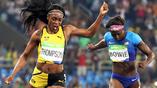 Для легкоатлетки Элейн Томпсон это уже вторая золотая олимпийская медаль в Рио. На этот раз она выиграла забег на 200 м