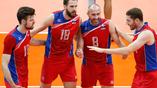Российские волейболисты в полуфинале с Бразильцами
