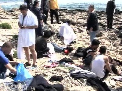 В Средиземном море спасены три тысячи мигрантов