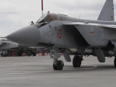 Истребитель-перехватчик сбил крылатую ракету на Камчатке