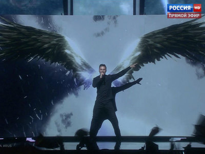 сергей лазарев выступит финале евровидения номером