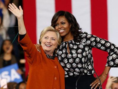 мишель обама пойдет пути хиллари клинтон