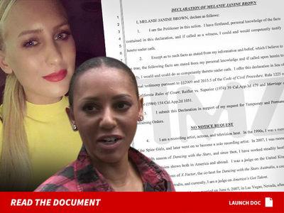 Любовница мужа экс-солистки Spice Girls подает на нее в суд