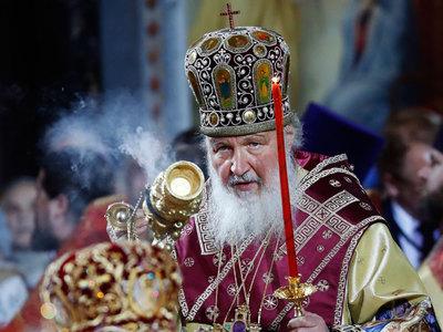 патриарх кирилл встретил мощи николая чудотворца храме христа