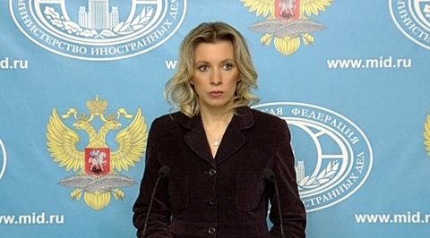 Захарова: Россия озабочена поведением СБУ в отношении российских военных