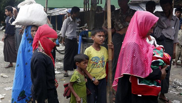 Количество беженцев-рохинджа изМьянмы вБангладеш превысило 415 тыс.