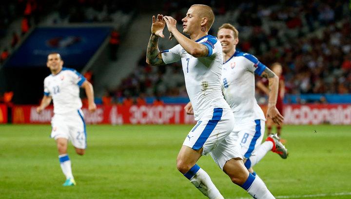 Сборная России пофутболу проиграла словакам наЕвро