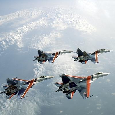 Первая репетиция воздушной части парада Победы в небе над Москвой прошла успешно