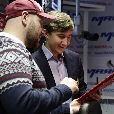 Сергей Карякин на радио «Маяк»