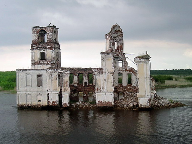молога затопленный город фото 2014