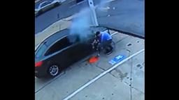 Посмотрите, как взрывается перекачанная автомобильная шина (видео)