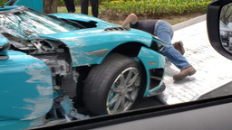 Бывший суперкар принца Катара за 97 млн рублей превратили в автохлам