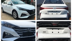 Как Sonata: первые фото обновленного Hyundai Solaris