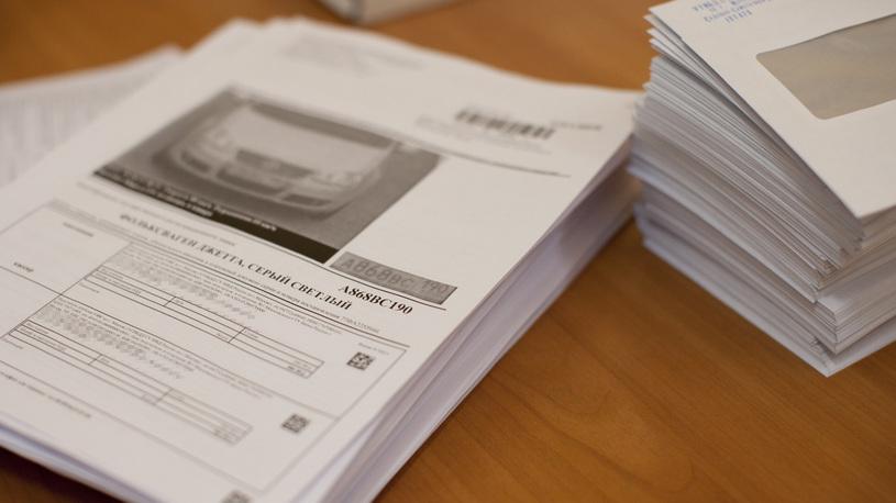 Назван средний размер штрафа за нарушение ПДД в России