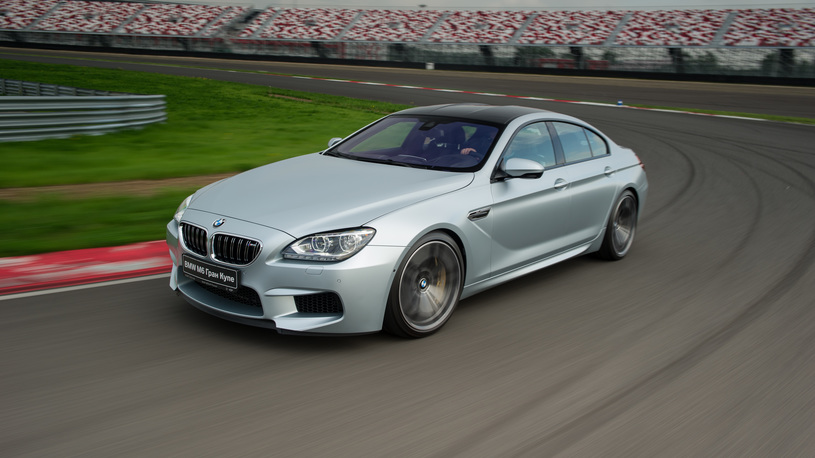 Легионер: экспресс-тест BMW M6 Gran Coupe