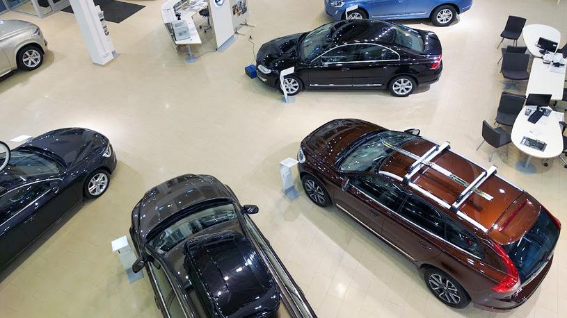 Автомобильный рынок России вырвался на третье место Европе