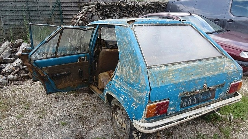 Угнанный 38 лет назад автомобиль нашли из-за засухи