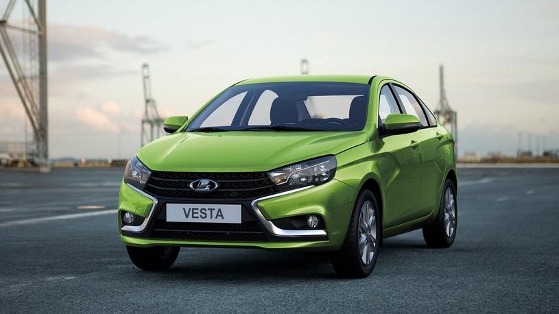 Lada Vesta вновь стала абсолютным бестселлером в России