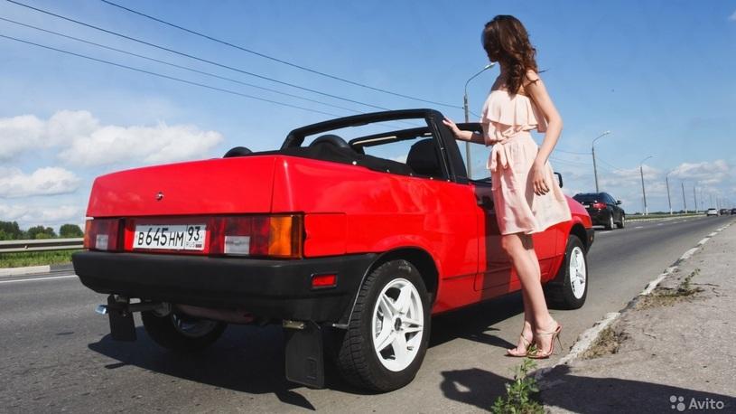 Старый кабриолет на базе ВАЗ 2108 продают за миллион рублей