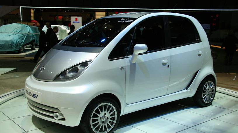 Tata выводит на рынок самый дешевый электромобиль в мире