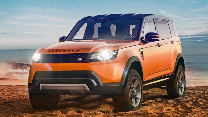 Появились подробности о новом Land Rover Defender