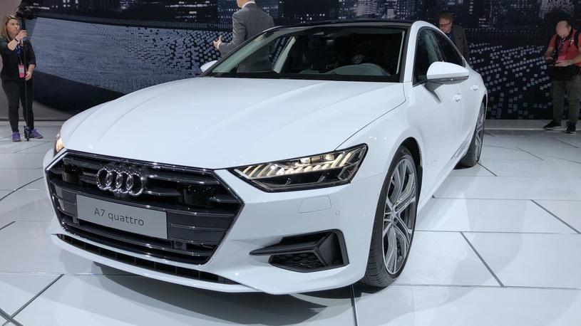 В США состоялась живая премьера новейшего Audi A7 Sportback