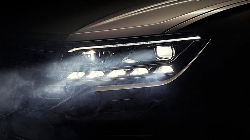 У нового Volkswagen Touareg будет матричная оптика