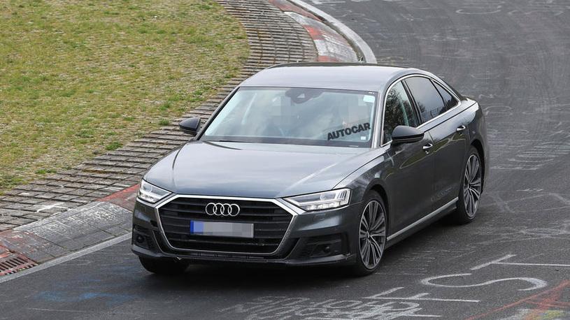 Новое поколение Audi S8 вышло на тесты
