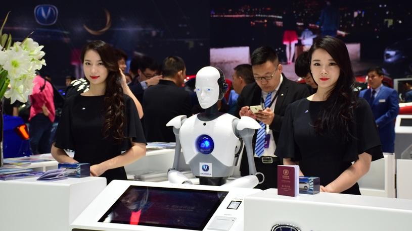 Лучшие девушки автосалона в Пекине-2018