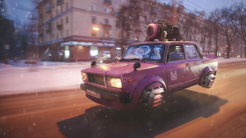Россия будущего: роботы, летающая вазовская