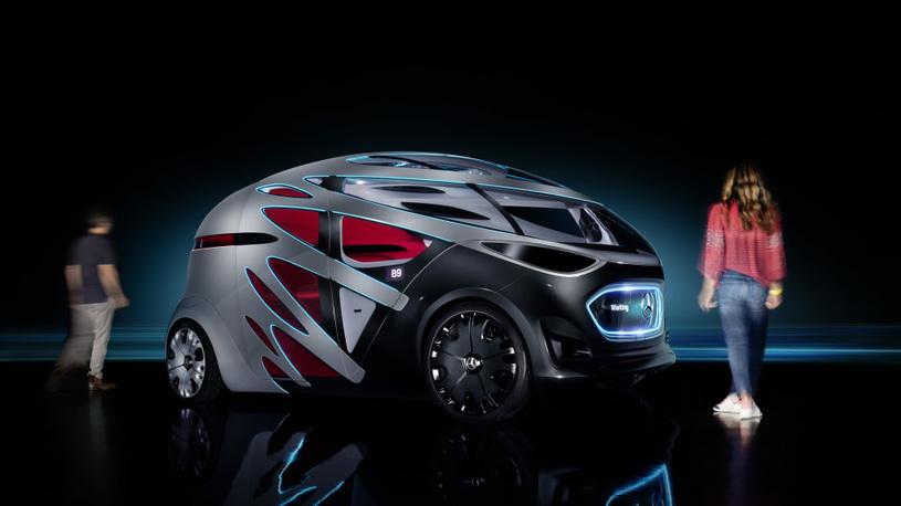 Mercedes-Benz представил идеальный автомобиль-трансформер для города