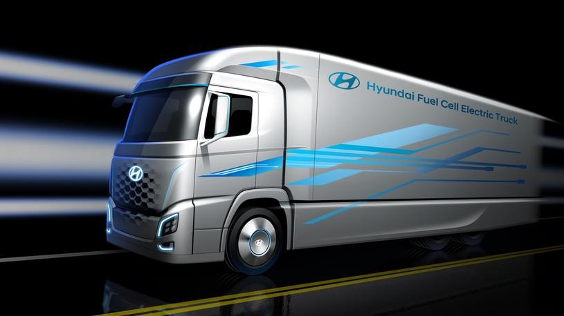 Новый грузовик Hyundai запитают водородом