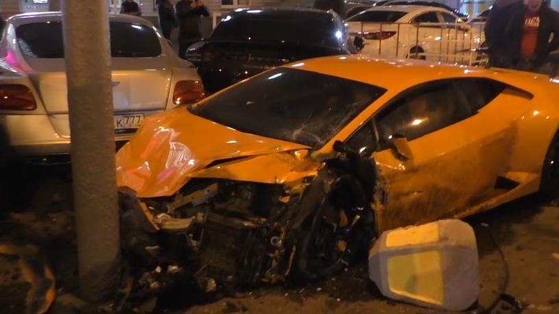 Самая дорогая авария случилась в центре Москвы