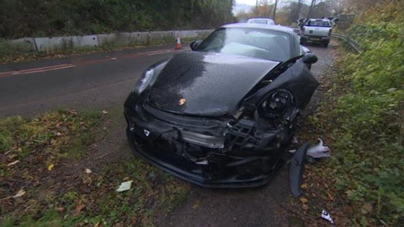 Ведущий культового телешоу Top Gear разбил Porsche за 10 млн рублей