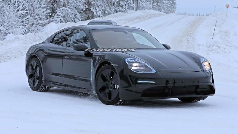 Новый электрокар Porsche: кузов для дачников и неутомимая мощь