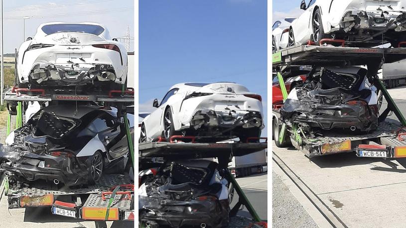 Новейшие Toyota Supra разбиты всмятку еще до передачи покупателям